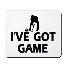 I've got game Curling designs Mousepad
