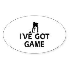 I've got game Curling designs Decal