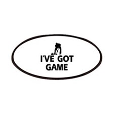 I've got game Curling designs Patches