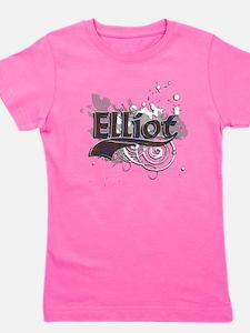 Elliot Tartan Grunge Girl's Tee