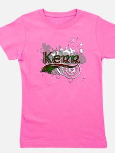 Kerr Tartan Grunge Girl's Tee