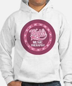 Worlds Best Music Therapist Hoodie