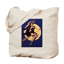 Windy Witch Tote Bag