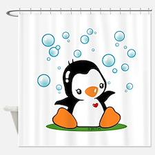Penguin (A) Shower Curtain