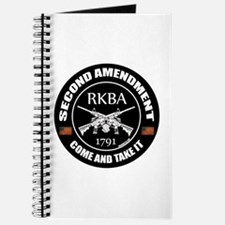 Second Amendment RKBA ARs Come and Take It Journal