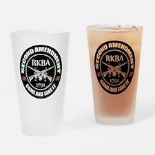 Second Amendment RKBA ARs Come and Take It Drinkin