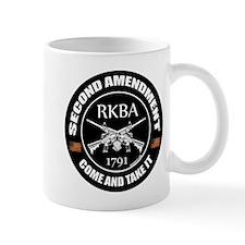 Second Amendment RKBA ARs Come and Take It Mug