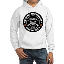 Second Amendment RKBA ARs Come and Take It Hoodie