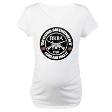 Second Amendment RKBA ARs Come and Take It Materni