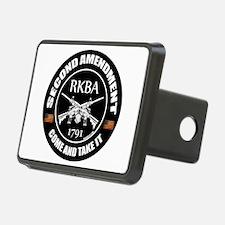 Second Amendment RKBA ARs Come and Take It Hitch C