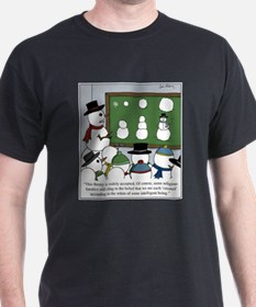 Snowman Evolution T-Shirt
