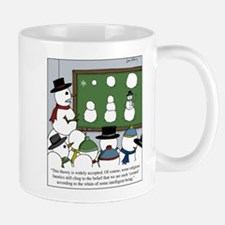Snowman Evolution Mugs