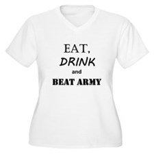 Eat Drink Beat Army Plus Size T-Shirt