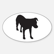Bo Sillhouette Oval Decal