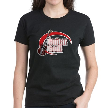 Guitar God! Women's Dark T-Shirt