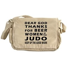 Beer Women And Judo Messenger Bag