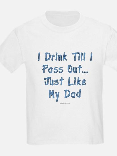 Just Like Dad Kids T-Shirt