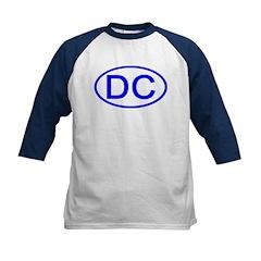 DC Oval - Washington DC Kids Baseball Jersey