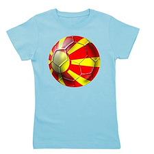 Macedonia Football Girl's Tee