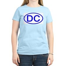 DC Oval - Washington DC Women's Pink T-Shirt