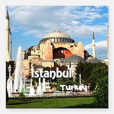 "Istanbul Square Car Magnet 3"" x 3"""