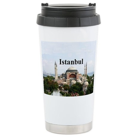 Istanbul Stainless Steel Travel Mug