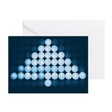 Blue Christmas Tree  (Pk of 10)