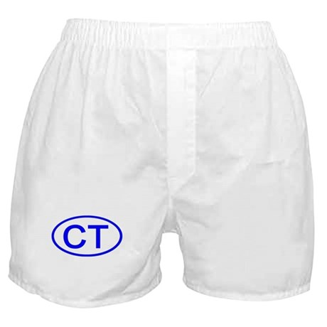 CT Oval - Connecticut Boxer Shorts