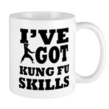 Kung Fu martial arts designs Small Mug