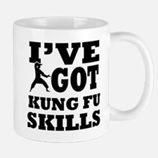 Kung Fu martial arts designs Small Small Mug