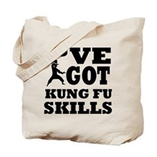 Kung Fu martial arts designs Tote Bag