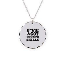 Kung Fu martial arts designs Necklace