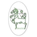 Herne #2 Oval Sticker