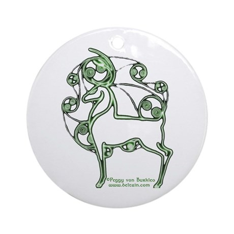 Herne #2 Ornament (Round)