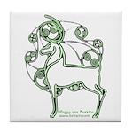 Herne #2 Tile Coaster
