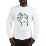 Herne #2 Long Sleeve T-Shirt - Wht/Gr