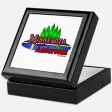 "Minnesota:Land of the Andersons""Keepsake Box"