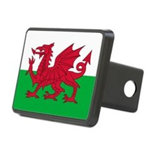 Welsh Flag of Wales Hitch Cover