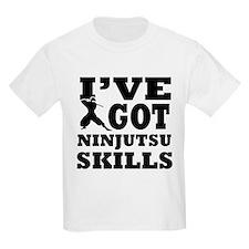 Ninjutsu martial arts designs T-Shirt