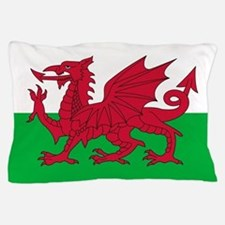 Welsh Flag of Wales Pillow Case