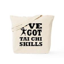 Tai Chi martial arts designs Tote Bag