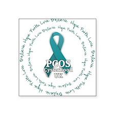 PCOS Cysterhood UK Sticker