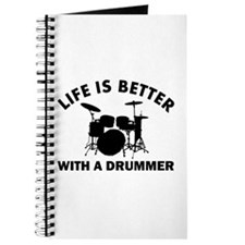 Life is better with a Drummer Journal