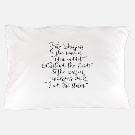 Fate Whispers Pillow Case