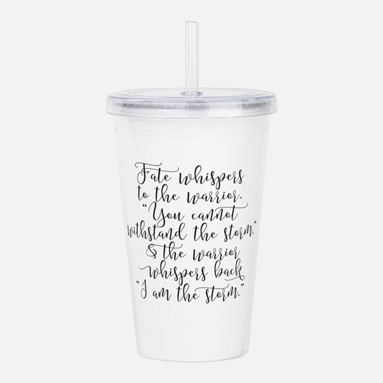 Fate Whispers Acrylic Double-wall Tumbler