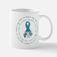 PCOS Cysterhood UK logo Mug