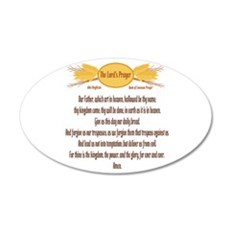 The Lords Prayer Wheat Wall Decal