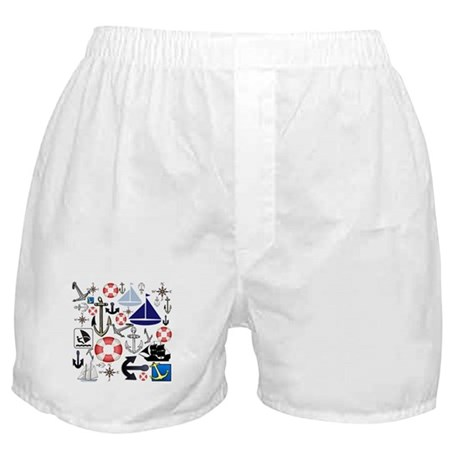 Naturally Nautical Boxer Shorts