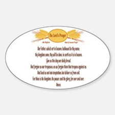 The Lords Prayer Wheat Decal
