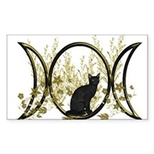 Triple Moon Art Series Cat Decal